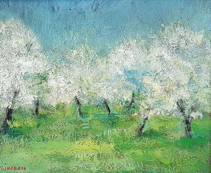 Ricardo ZAMORANO (1924) Les arbres dans la...