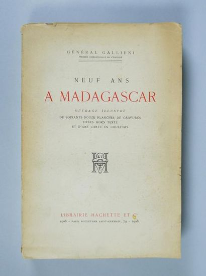 Général Galllieni, Neuf ans à Madagascar,...