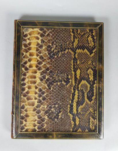 VALERY Paul (1871-1945) Le Serpent, illustrations...