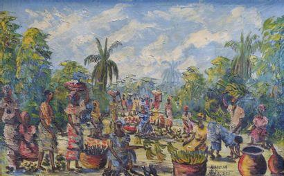 KIABELUA (Ecole africaine du XXe siècle)...