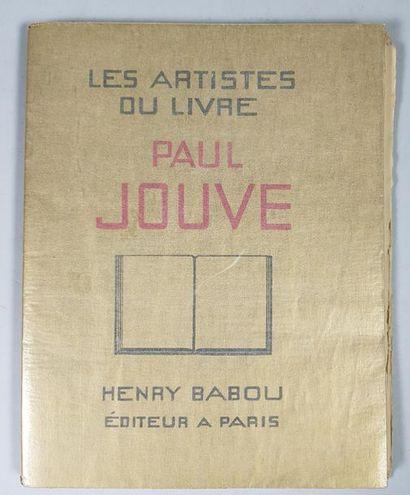 Les artistes du livre : Paul Jouve Henry Babou, Paris 1931, 20,5 x 26,5 cm,...