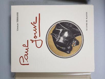 Charles TERRASSE (1893-1982). Paul Jouve. Biographie de Paul Jouve. Edition le Livre...