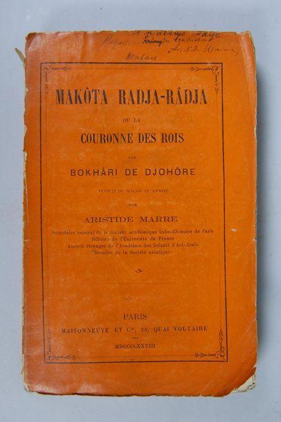 Bokhâri de Djohôre, Makôta Radja-Râdja ou...