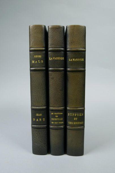 Trois livres Les grands Marins, Collection...