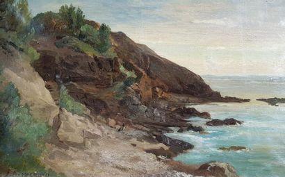 Joseph Antoine HEKKING (1830-1903) Bord de...