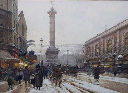 Eugène GALIEN LALOUE (1854-1941) Vue de la...