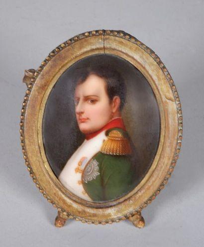 Ecole française du XIXe siècle. Portrait...
