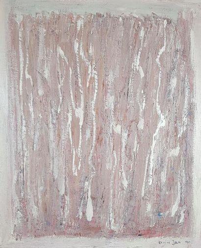 Elvire JAN (1904-1996) Composition en mauve,...
