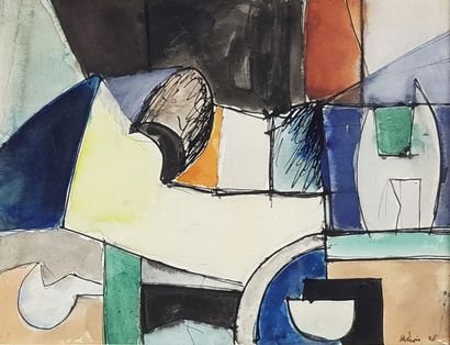 Jean HELION (1904-1987) Abstraction, 1938....