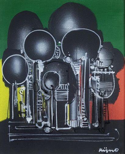 Ladislas KIJNO (1921-2012) Abstraction, 1975....
