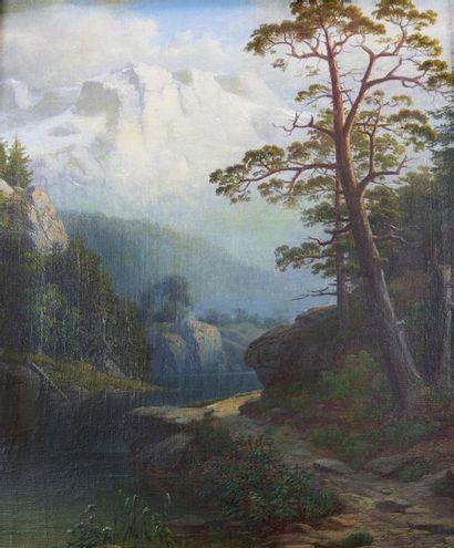 Dans le goût de Josef NAVRATIL (1798-1865)...