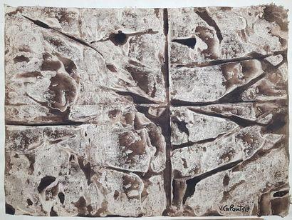 Valerios CALOUTSIS (1927) Composition en...