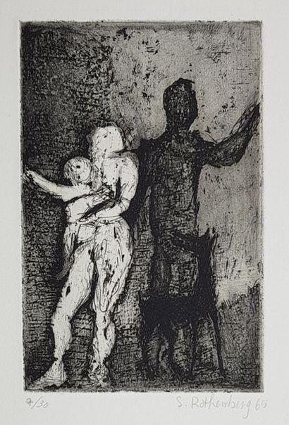 Susan ROTHENBERG (1945) Le couple, 1965....