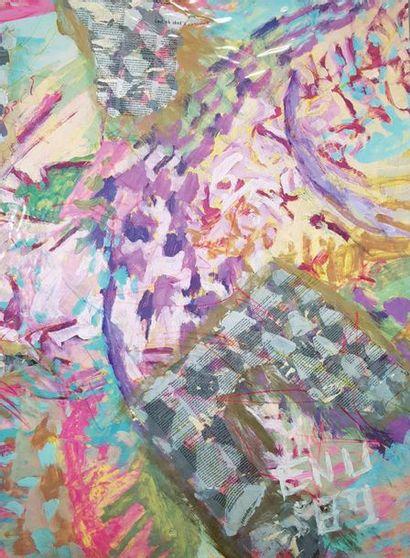Henri ENU (né en 1949) Composition abstraite,...