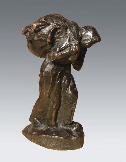 Aimé-Jules DALOU (1838-1902) Retour de l'herbe...