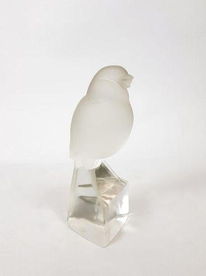 Jan et Joël MARTEL (1896-1966) Moineau. Sculpture...