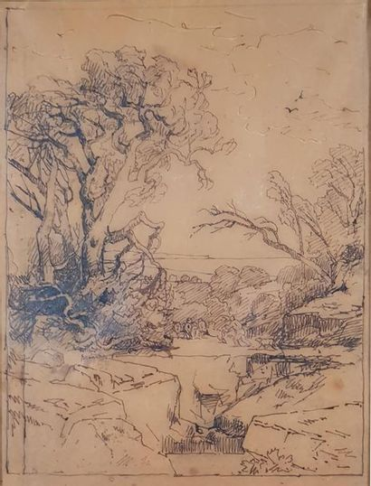 PONTHUS-CINIER (Attribué à) (XIXe siècle)...