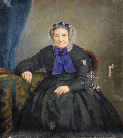 Jacques Edmond LEMAN (1829-1889) Portrait...