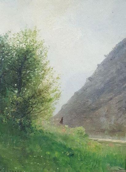 Jean Roch ISNARD (1845-1890) Le chasseur....