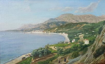 Victor Paul Joseph DARGAUD (1850-1921) Sur...