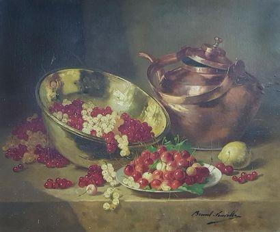 Alfred BRUNEL de NEUVILLE (1852-1941) Nature...