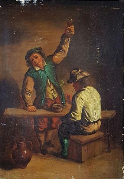 Ecole hollandaise du XIXe siècle dans le...