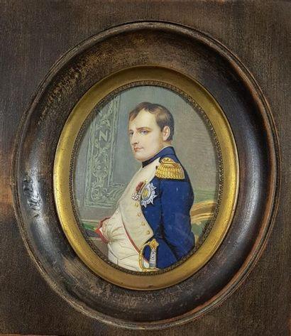 Ecole française vers 1900 Portrait de Napoléon...