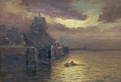 Louis LARTIGAU (XIX-XXe siècles)  Bateau...