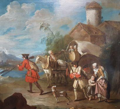 Ecole française du XVIIIe siècle, suiveur...