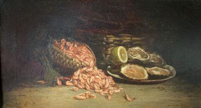 Charles FOUQUÉ (1841-1919)  Nature morte...