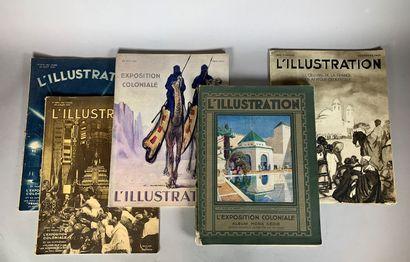 L'illustration, cinq albums : 22 aout 1931,...