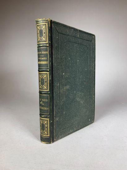 Jules Verne, Le Pays des Fourrure, HETZEL....