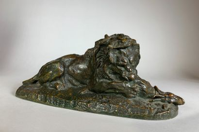 Antoine Louis BARYE (1796-1875)_x000D_  Lion...