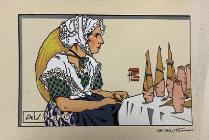 Georges GÉO-FOURRIER (1898-1966) Douze estampes...