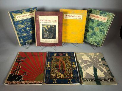 Extrême-Asie : juillet 1928, juillet-aout-sept....