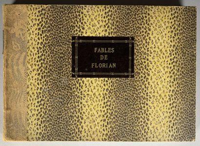 Fables choisies de Florian. Imprimé sur papier...