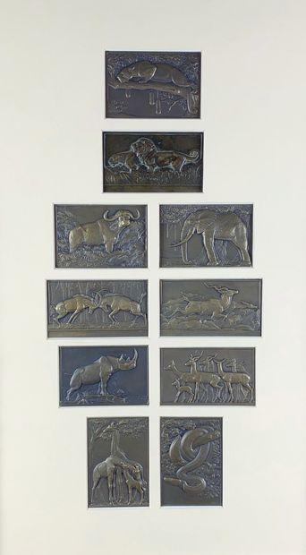 René THÉNOT (1893-1963) Les animaux de la...