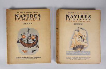 LA ROERIE et VIVIELLE. Navires et marins...