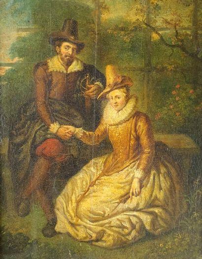 D'après Peter Paul RUBENS (1577-1640)  Sous...