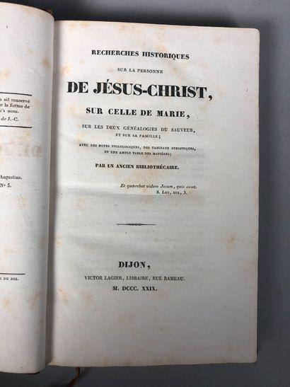 (Étienne-Gabriel PEIGNOT). Recherches historiques...