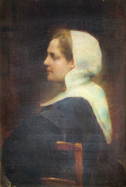 Adrien Henri TANOUX (1865-1923)  Portrait...