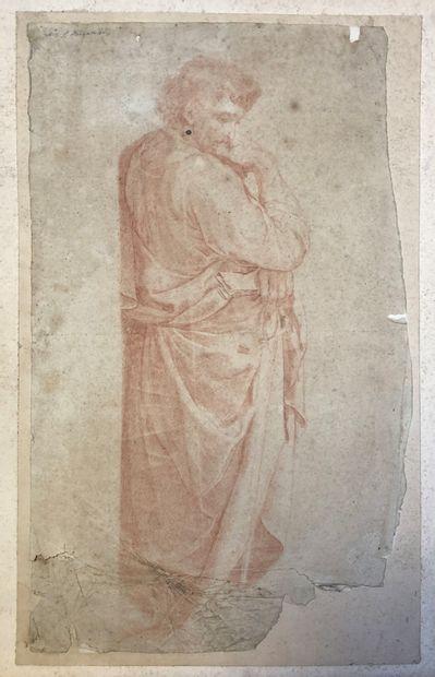Ecole française du XVIIIe siècle  Figure...