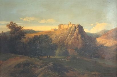 Nicolas Victor FONVILLE (XIXe siècle)  Château...