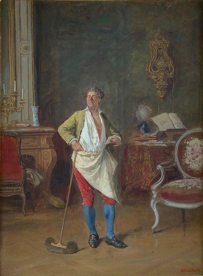 Louis-Georges BRILLOUIN (1817-1893)  La lettre....
