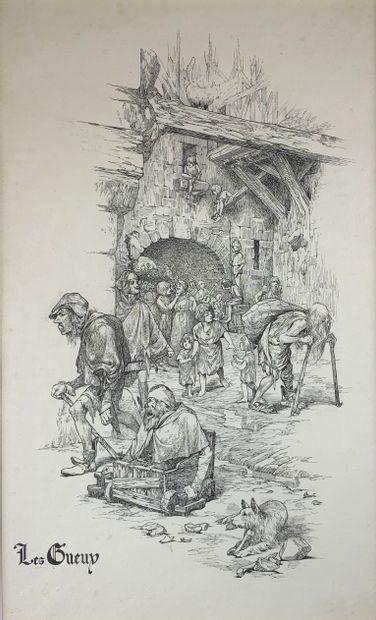 Chéri HEROUARD (1881-1961)  Illustrations...