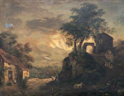 Virginia LOMBARDI ( XIXe siècle)  Berger...