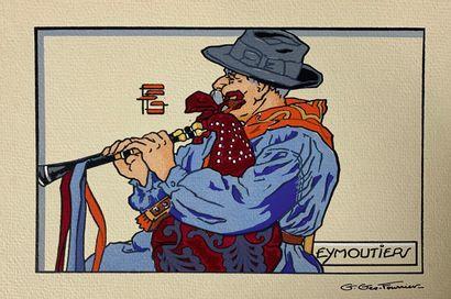 Georges GÉO-FOURRIER (1898-1966)  Vingt estampes...
