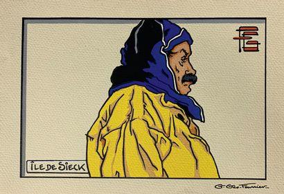 Georges GÉO-FOURRIER (1898-1966)  Dix estampes...