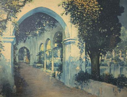 William Adolphe LAMBRECHT (1876-1940)  Amoureux...