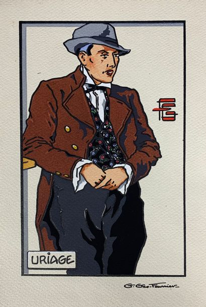 Georges GÉO-FOURRIER (1898-1966)  Dix-huit...
